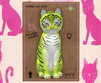 KittyCatS Box - F Tiger! Chartreuse Exotic Journey 9T