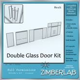 Glass Door full perm - ZimberLab Door C2