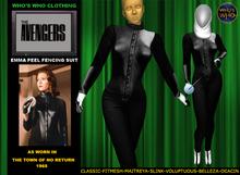 WW Emma Peel Fencing Suit (Mesh)