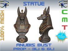 STATUE - ANUBIS BUST