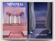 MINIMAL - Forever Backdrop Dark Feeling