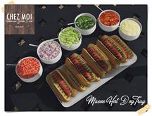 Maeve Hot Dog Tray ♥ CHEZ MOI