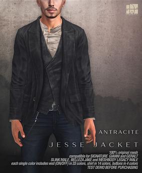 [Deadwool] Jesse jacket - antracite