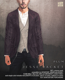 [Deadwool] Jesse jacket - plum