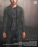 [Deadwool] Jesse jacket - sage