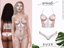 Suze Lingerie ➔ NUDE *materials   bom   rlv*