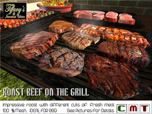 BBQ ROAST BEEF ON THE GRILL/C/BOXED