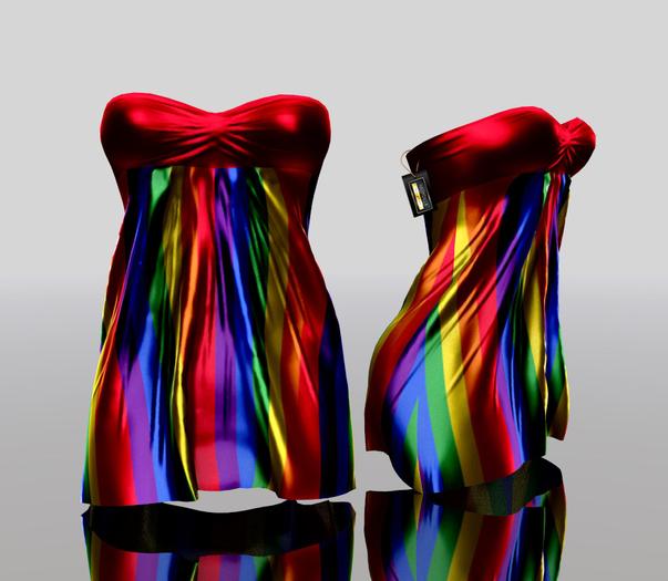 * Harmonia Helia Pride Rainbow - Maitreya Slink Belleza