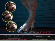 [P] Ungulate Legs - Regalia - ATHLETIC *rez to unpack*