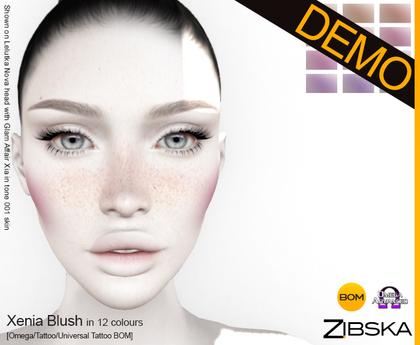 Zibska ~ Xenia Demo [Omega/tattoo/universal tattoo BOM]