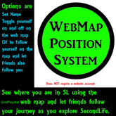 WebMap Position System HUD 1.2.0 - (right click -> Add)