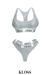 [Lounge] Sportsbra & Underwear Set Grey ::Kloss::