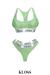 [Lounge] Sportsbra & Underwear Set Lime ::Kloss::