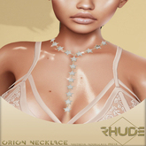 [RHUDE] Orion Necklace  10K Gold