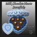 Box Of Milk Chocolate Hearts - Snowflake