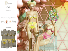 S&P lingerie Cake yellow (wear to unpack)