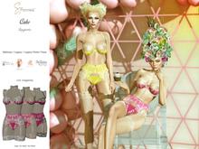 S&P lingerie Cake magenta (wear to unpack)