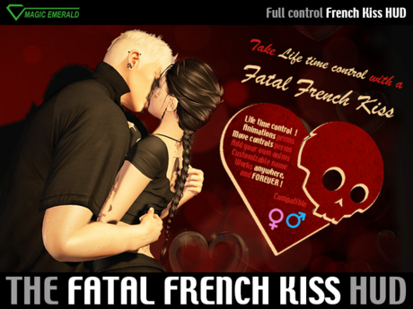 French Kiss [HUD] - Get Control with a Fatal Kiss !