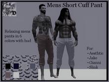 Mesn Short Cuff Pant DEMO (ADD ME)