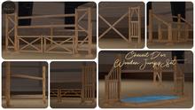 Cheval D'or / Wooden Jumps Set. [HUD; Wear.]