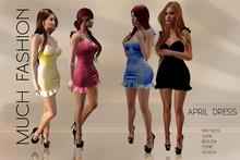 MUCH FASHION-APRIL DRESS 6 TEXTURE HUD