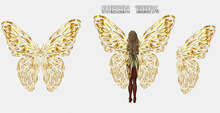 GOLDEN WINGS ANIMATED FOR FAIRY MESH COMPLETE