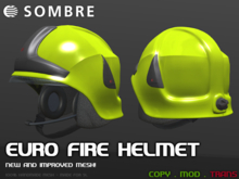 Sombre Euro Fire Helmet v2