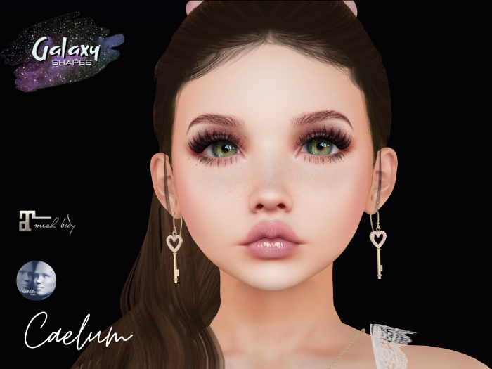 Caelum Shape for Genus Baby Face W001 by Galaxy Shapes