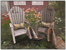 Dragonfly Deck Collector Chairs