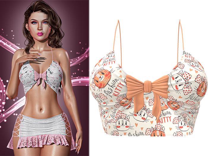 !PCP :: Ashlee Tank [Kitty Fashion]