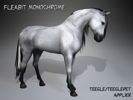 PROMO ! ME_Teegle applier Fleabit Monochrome