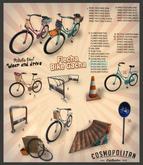 FLECHA street bike - gold