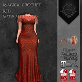 **Mistique** Magica Crochet Red {wear me and click to unpack)
