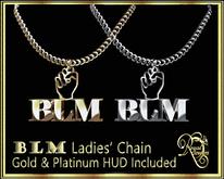 RJ BLM Woman's Necklace