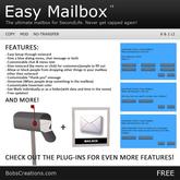 {Bob} Easy Mailbox - BOXED