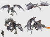 AP043 Animpet Full Perm Animesh Dragon