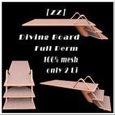 [zz]  Diving Board Full Perm 100% mesh 2LI
