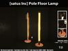 [satus Inc] Pole Floor Lamp