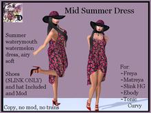 Mid Watermelon Dress 1