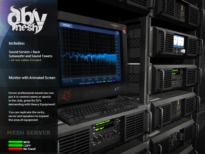 Central Sound Server [ DBy ]