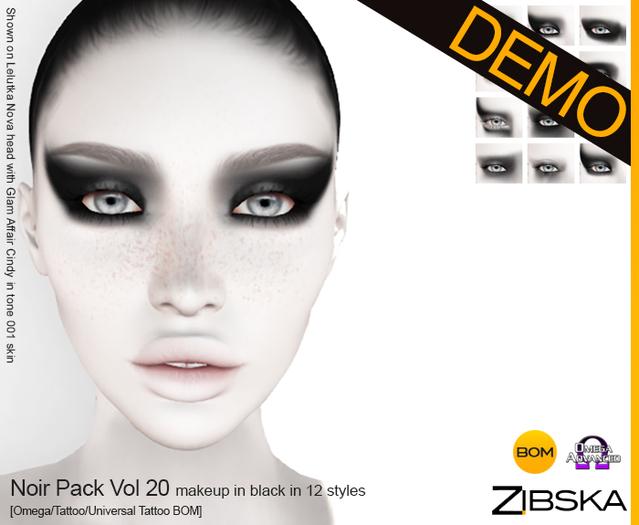Zibska ~ Noir Pack Vol 20 Demos [omega/tattoo/universal tattoo BOM]