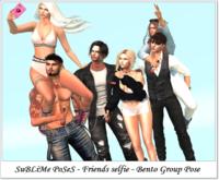 SuBLiMe PoSeS - Friends selfie - Bento Group Pose