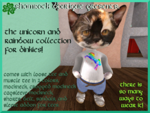 <SB> Unicorns and Rainbows Collection for Dinkies