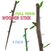[ FULL PERM ] Wooden Stick