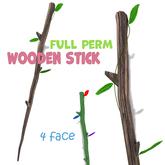 [ FULL PERM ] Wooden Stick