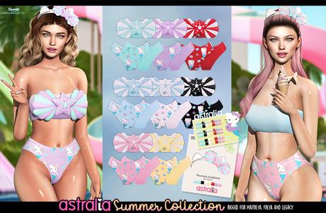 Astralia - Hello Kitty Swimsuit (FATPACK)