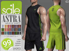 [CA] PROMO ASTRA MUSCLE SHIRTS SPORTS