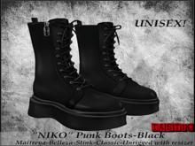 Tastic-Niko Punk Boots-Black