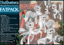 {NB} Magik Pony Avatar FATPACK *Boxed*