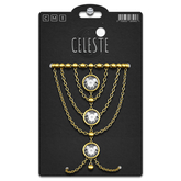 CELESTE - Elva Arm Chain Set Gold